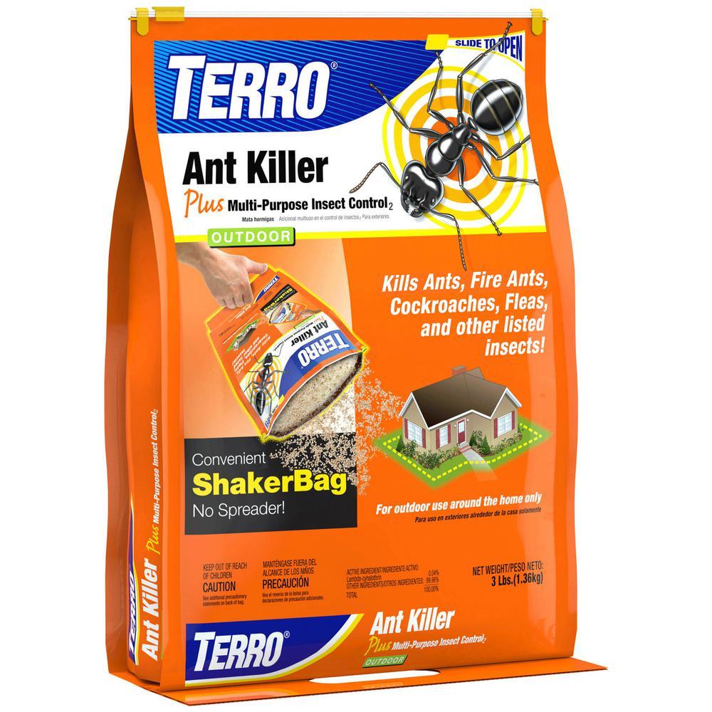 3 lb. Outdoor Ant Killer Granules Plus Shaker Bag