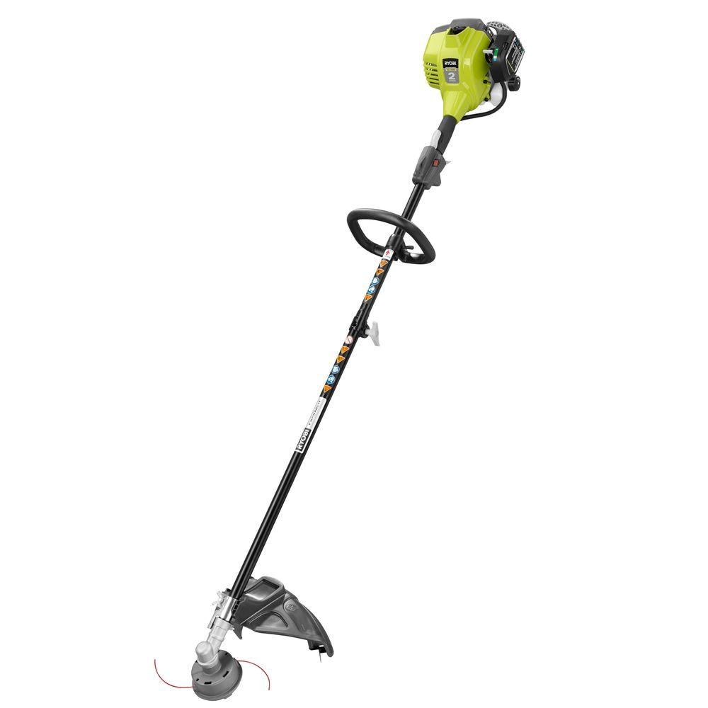 Ryobi Reconditioned 2-Cycle 25 cc Gas Full Crank Straight Shaft String  Trimmer