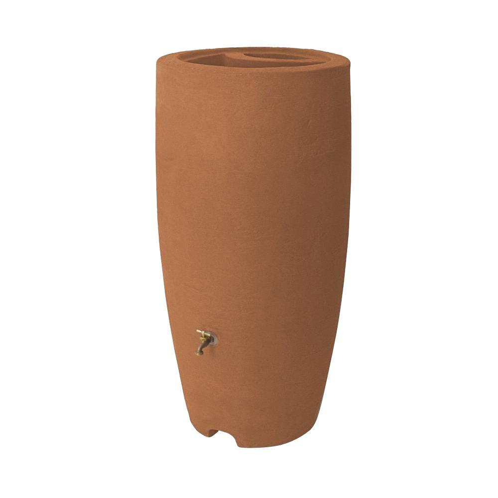 Athena 80 Gal. Terracotta Rain Barrel