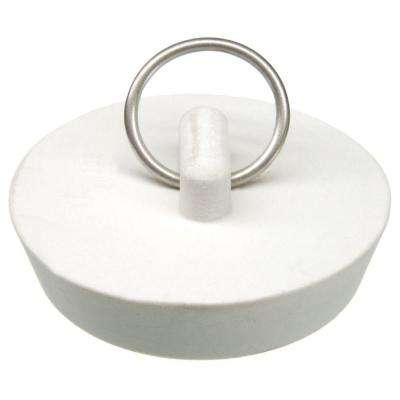 1-3/4 in. Kitchen Sink Stopper in White