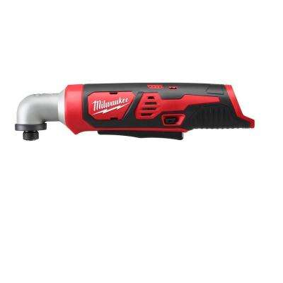 M12 12-Volt Cordless Lithium-Ion 1/4 in. Right Angle Hex Impact Driver (Tool-Only)