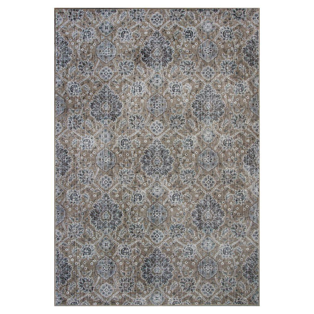 Kas Rugs Melrose Sand 3 Ft In X 4 7 Area Rug