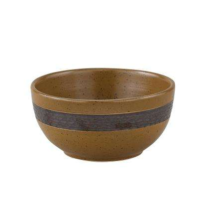Sawmill Brown Bowl (Set of 4)