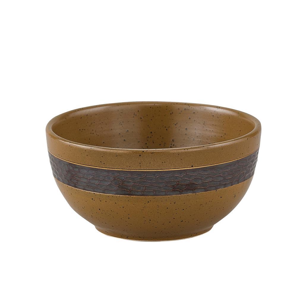 Sawmill Brown Bowl (Set of 4)