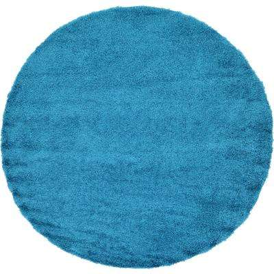 Round Teal Area Rugs Rugs The Home Depot