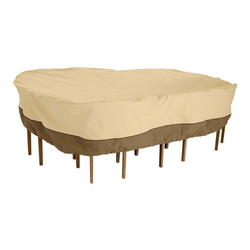 Veranda Medium Rectangular Patio Table and Chair Set Cover