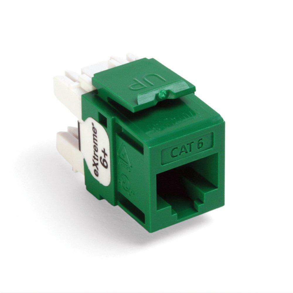 Leviton QuickPort Extreme CAT 6 Connector with T568A/B Wi...