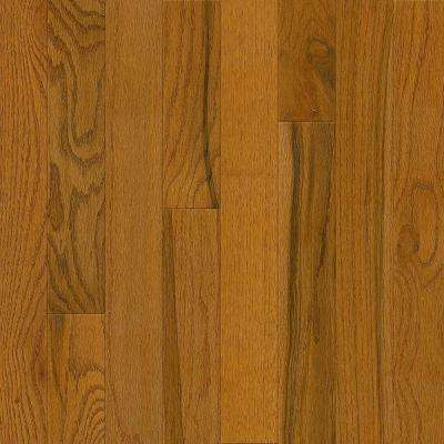 Plano Oak Gunstock 3/4 in. Thick x 3-1/4 in. Wide x Random Length Solid Hardwood Flooring (22 sq. ft. / case)