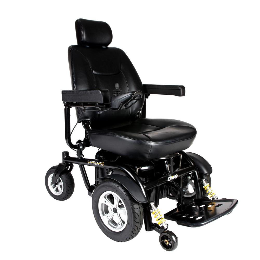 Drive Trident HD Heavy Duty Power-Wheelchair with 22 in. ...