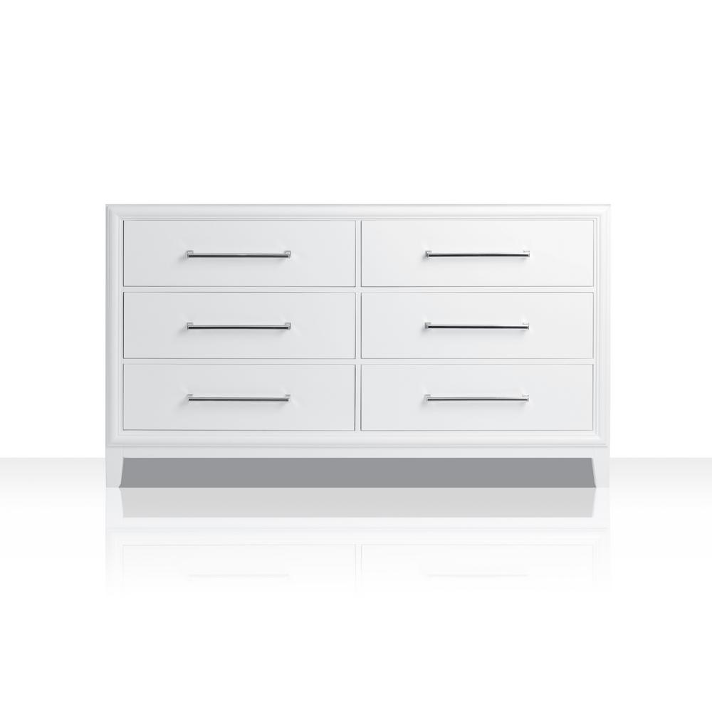 Ellie 59 in. W x 21 in. D Vanity Cabinet Only