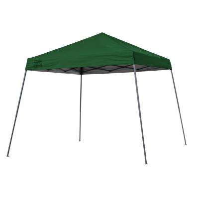 Expedition Team Colors 10 ft. x 10 ft. Slant Leg Instant Canopy in Green