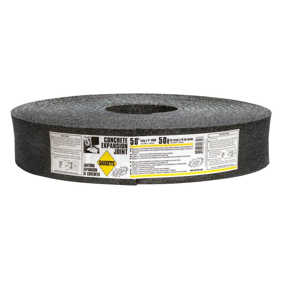 Sakrete 50 Ft Foam Expansion Joint