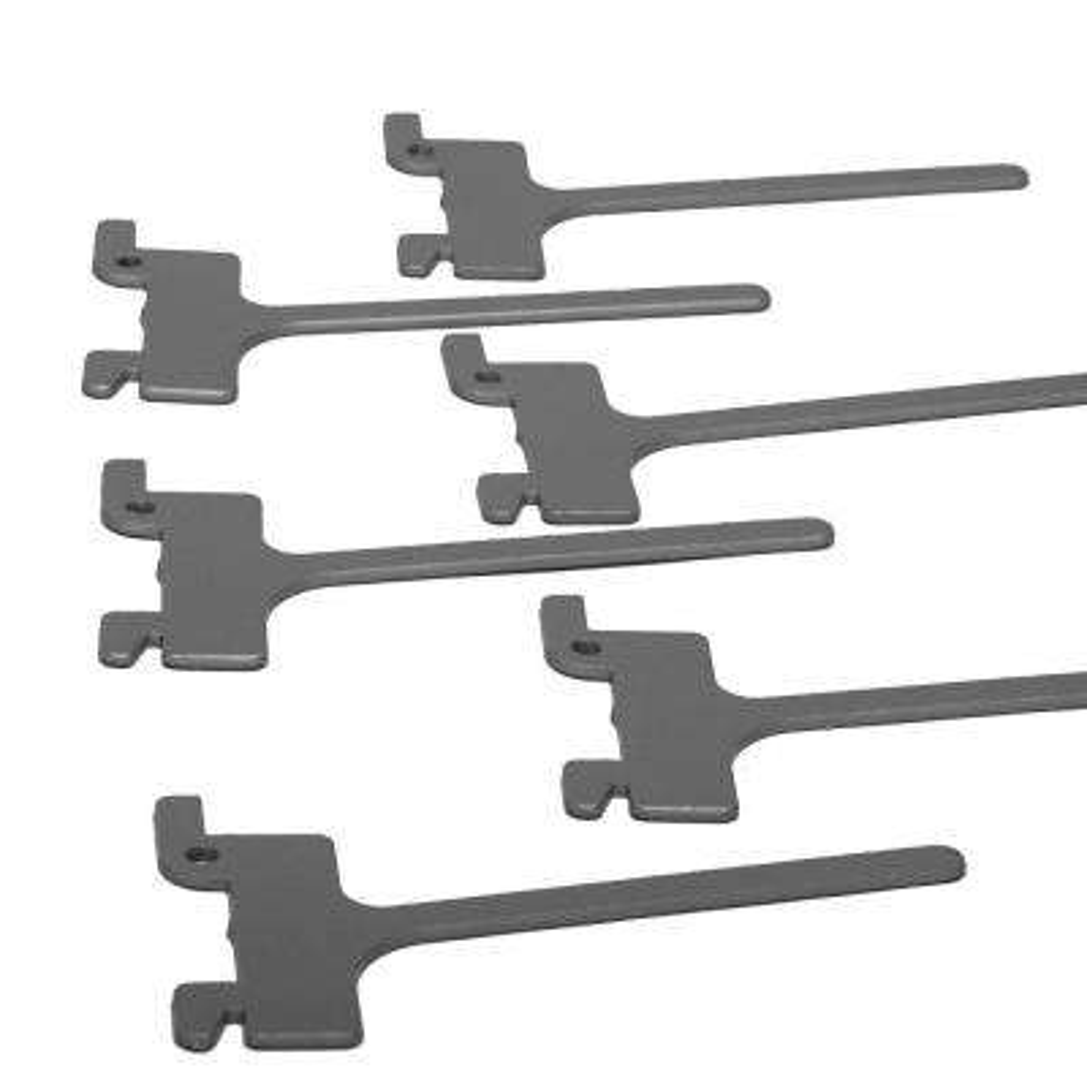 4 in. Peg Hooks (6-Pack)