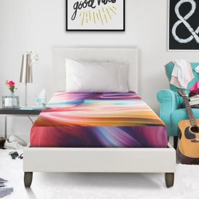 5 in. Full Size Tie-Dye Memory Foam Mattress