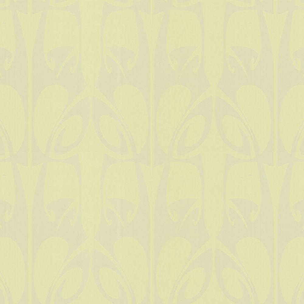 Graham & Brown 56 sq. ft. Hula Green Wallpaper