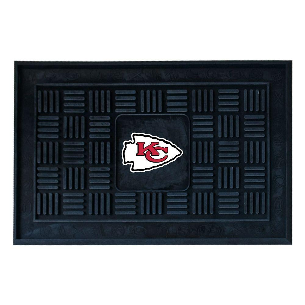 Kansas City Chiefs 18 in. x 30 in. Door Mat