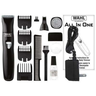 All-in-One Rechargeable Groomer in Black