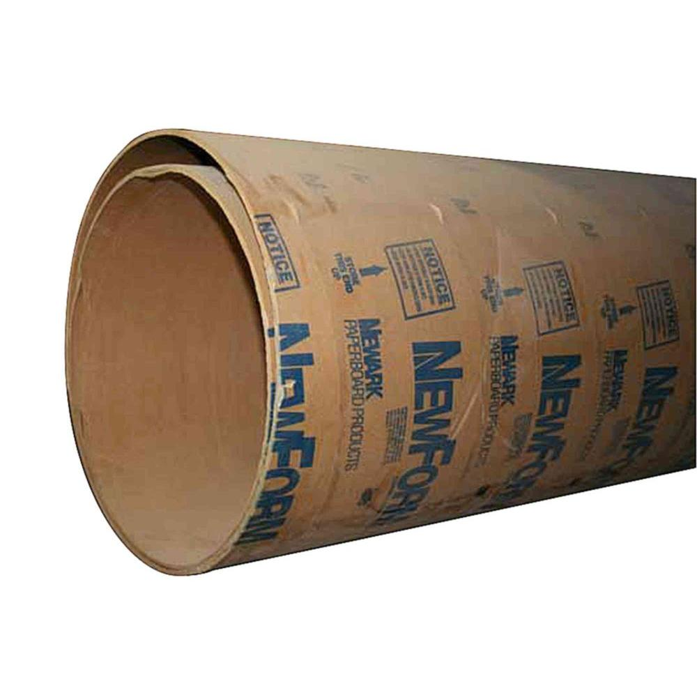 Pacific Paper Tube 12 in  x 12 ft  Concrete Tube Form