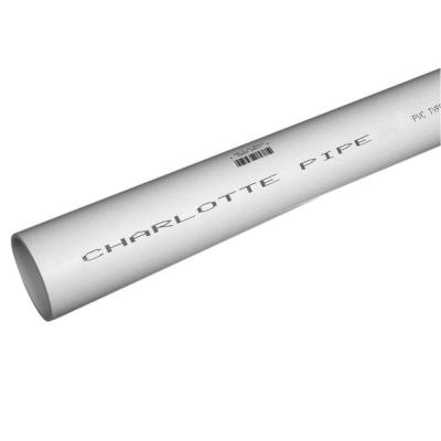 1/2 in. x 2 ft. PVC Schedule 40 Pressure Plain End Pipe