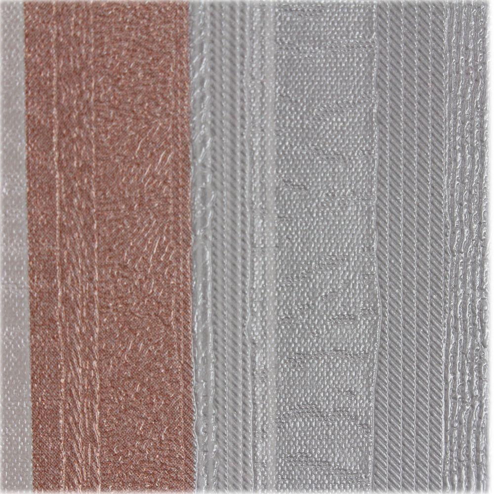 Instant Mosaic Grey And Pink Metallic Stripes Self Adhesive