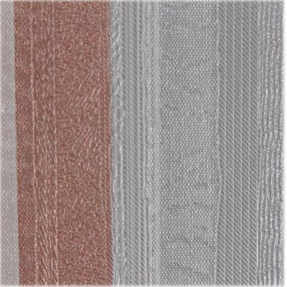 Grey and Pink Metallic Stripes Self-Adhesive Wallpaper Sample