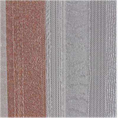 Grey and Pink Metallic Stripes Self-Adhesive Wallpaper Sample