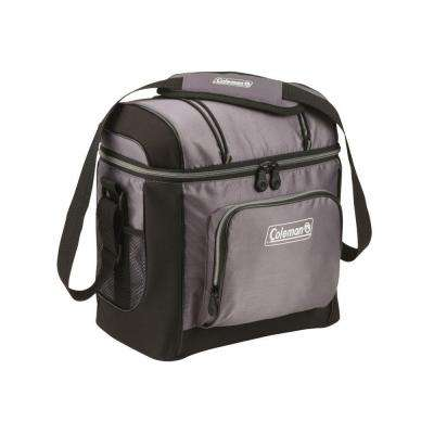 16-Can Gray Soft-Sided Cooler with Liner