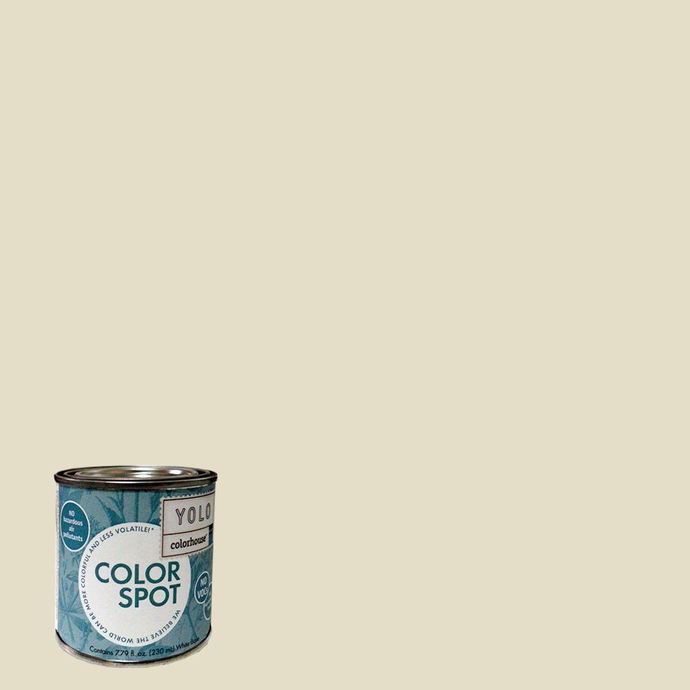 YOLO Colorhouse 8 oz. Air .03 ColorSpot Eggshell Interior Paint Sample-DISCONTINUED