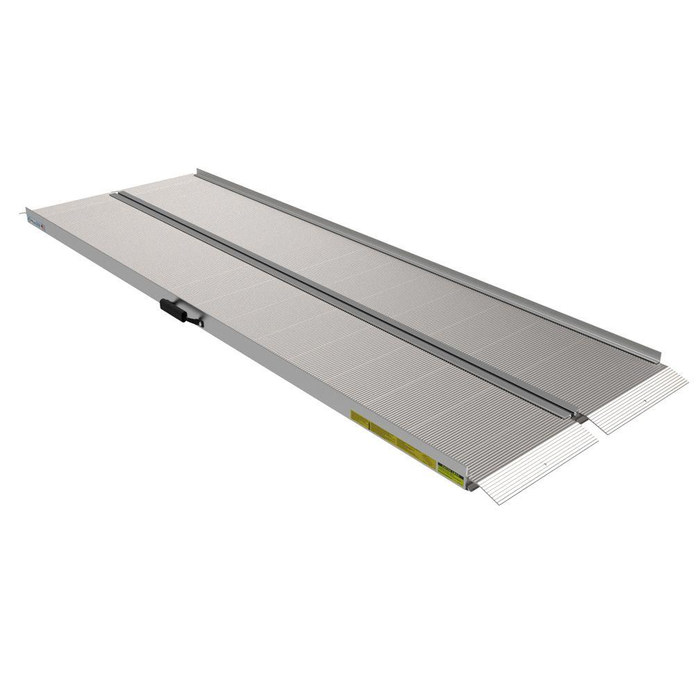 Traverse 8 ft. Aluminum Single Fold Ramp
