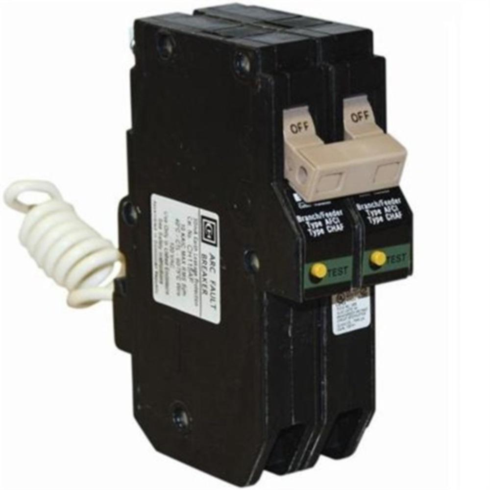 Square D Qo 20 Amp 2 Pole Combination Arc Fault Circuit Breaker Interrupter Afci Ge Industrial Solutions Type Ch