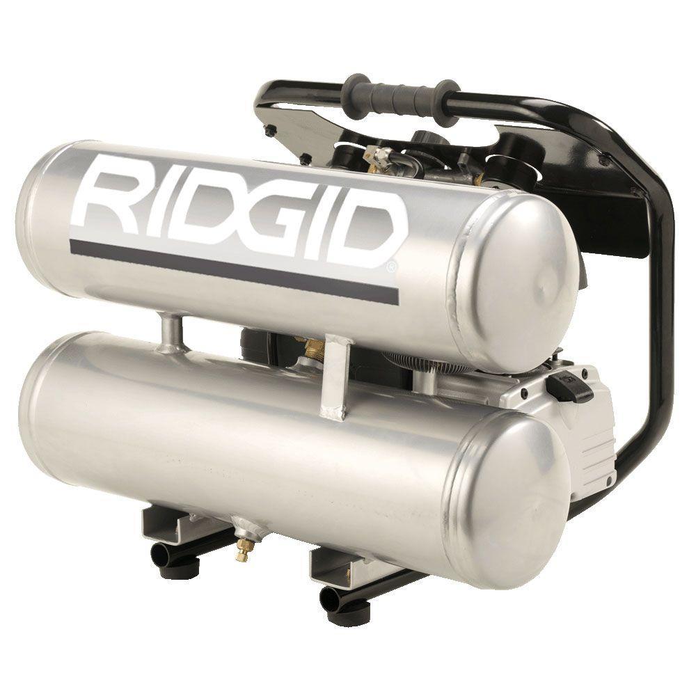 RIDGID 5-Gal. Aluminum Air Compressor-DISCONTINUED