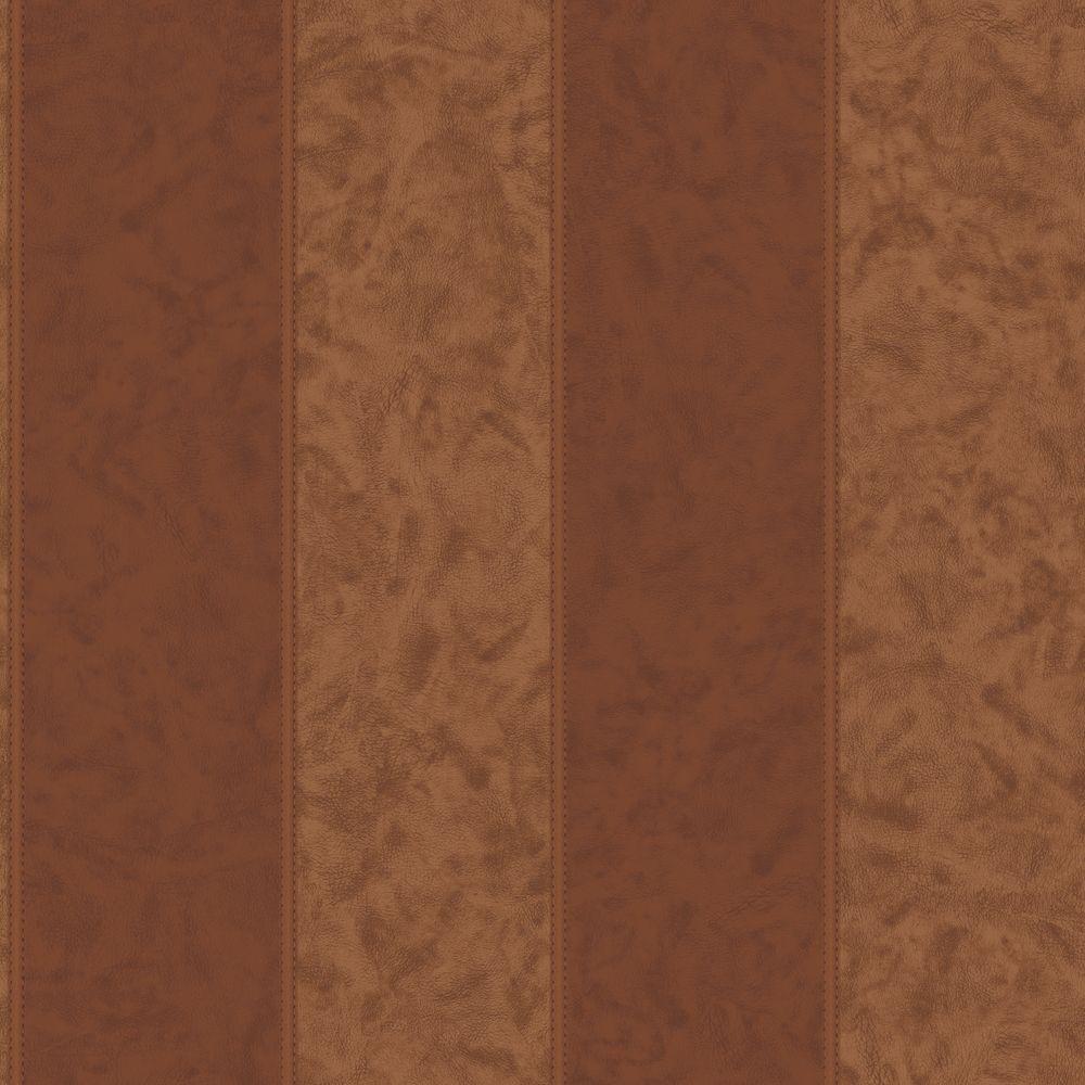 Leather Stripe Wallpaper