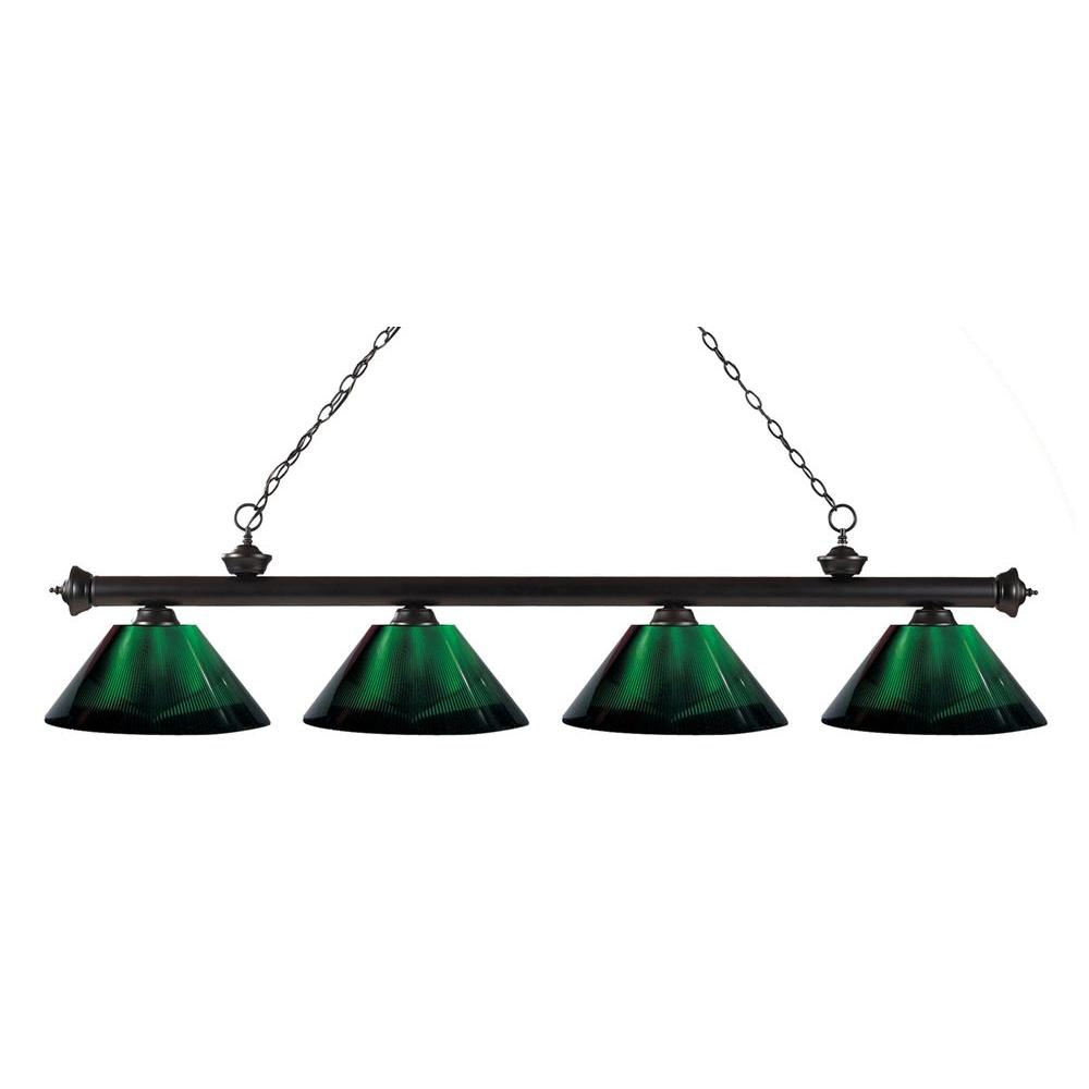 Filament Design Coastal 4-Light Bronze Island Light