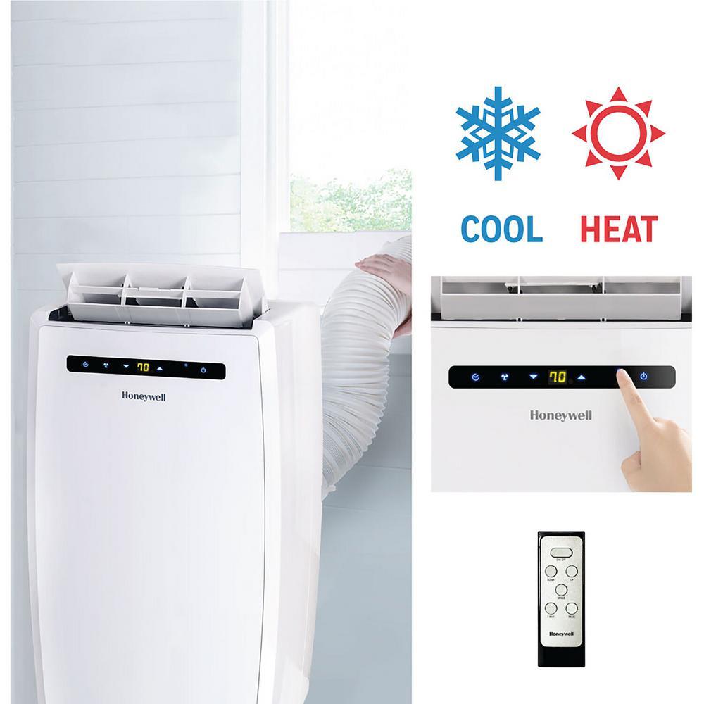 12,000 BTU (6,500 BTU (DOE) Portable Air Conditioner with Heater and Dehumidifier