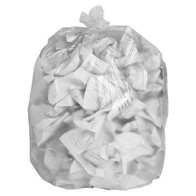 39 in. x 33 in. 0.63 mil High-Density Resin Trash Bags (500/Carton)