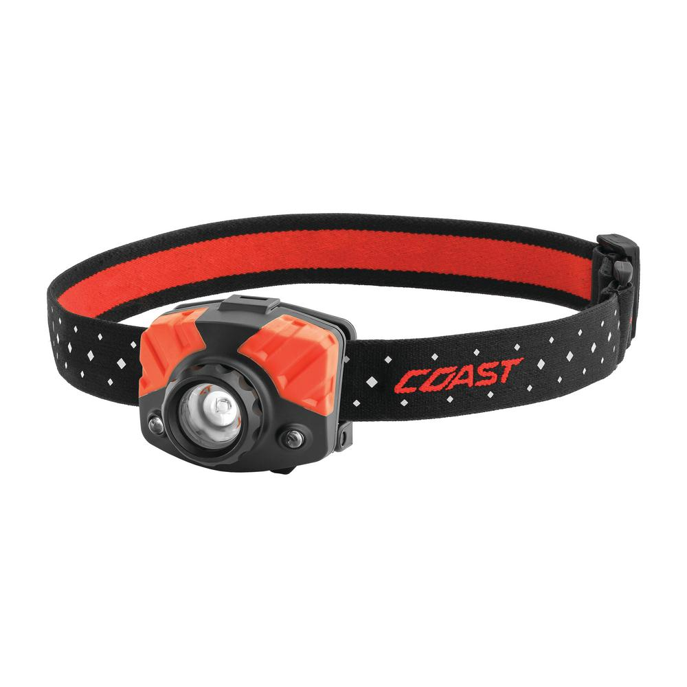 Coast Fl75r 530 Lumen Rechargeable Dual Color Led Headlamp With Twist Focus Accessories Included