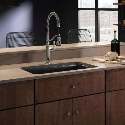 cairn undermount neoroc 335 in single bowl kitchen sink - Kohler Kitchen Sinks