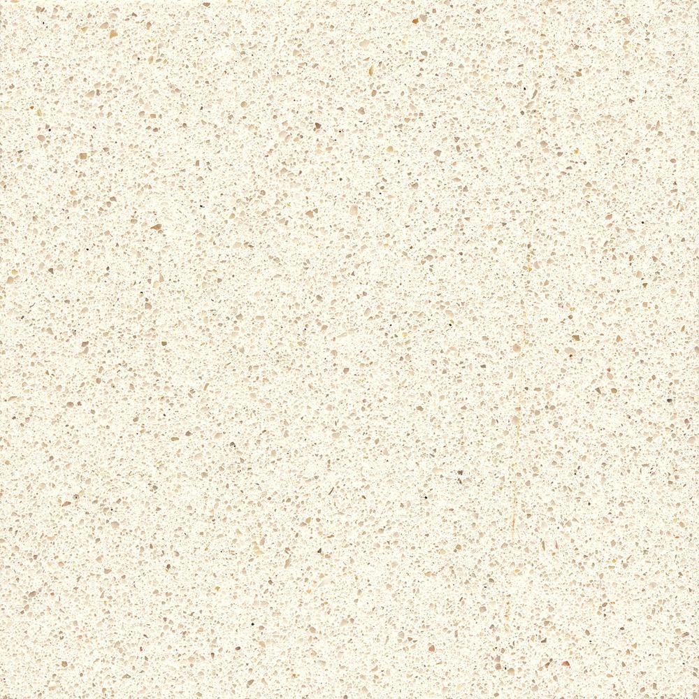 Silestone 2 in. x 4 in. Quartz Countertop Sample in White North