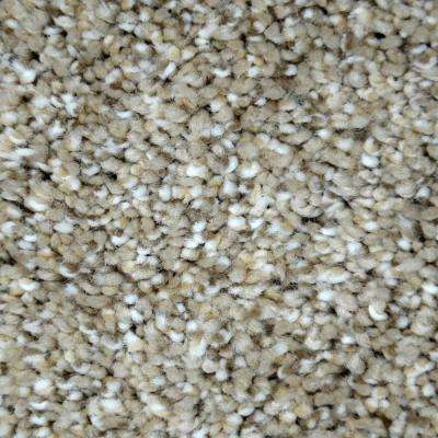 Carpet Sample - Unstoppable - Color Seaford Texture 8 in. x 8 in.