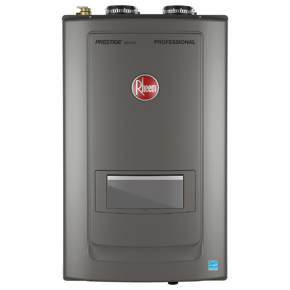 Prestige 9.9 GPM Natural Gas High Efficiency Combi Boiler with 199000 BTU