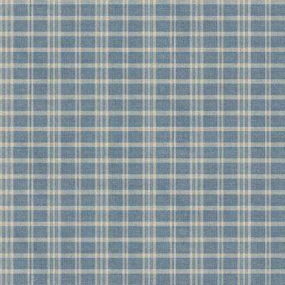Prairie Blueberry Gingham Wallpaper