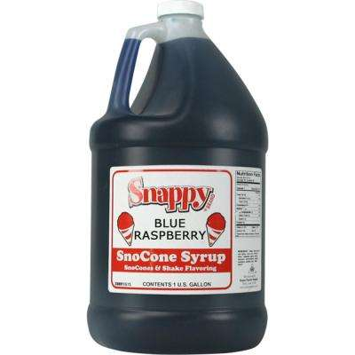 Snow Cone Syrup. 1 Gal. Blue Raspberry