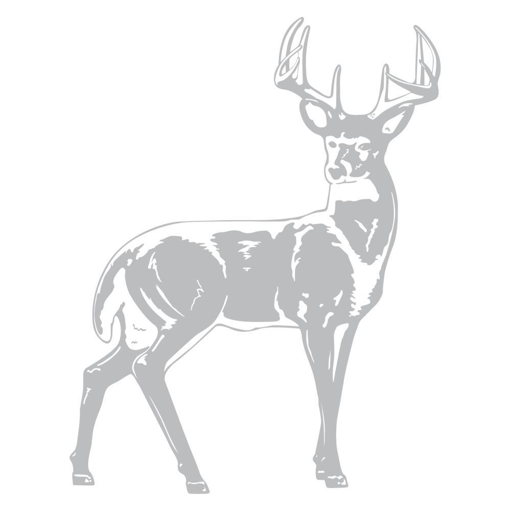 42 in. x 32 in. Deer Wall Decal