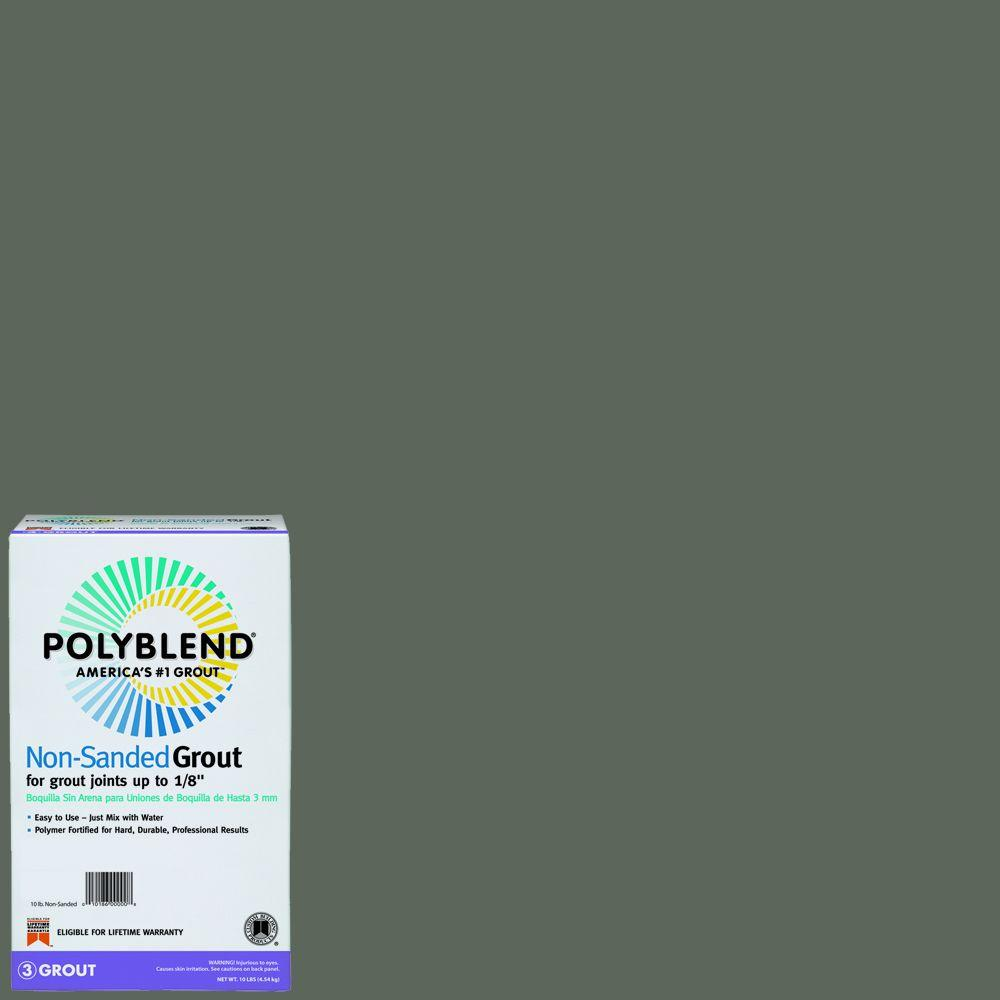 Custom Building Products Polyblend #09 Natural Gray 10 lb. Non-Sanded Grout