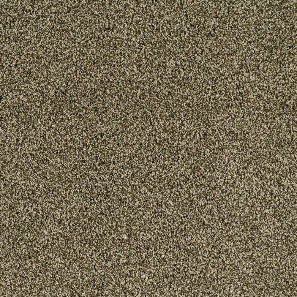 SoftSpring Lavish II - Color Garden Cucumber 12 ft. Carpet