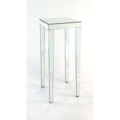 Clear Mirrored Greek Pedestal