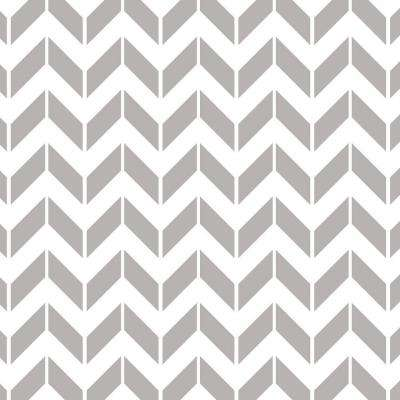 45 in. x 45 in. Medium Chevron Wall and Floor Stencil