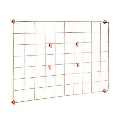 Copper Wall Grid