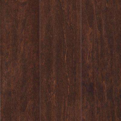 Take Home Sample - Foster Valley Rustic Tobacco Engineered Scraped Hardwood Flooring - 5 in. x 7 in.