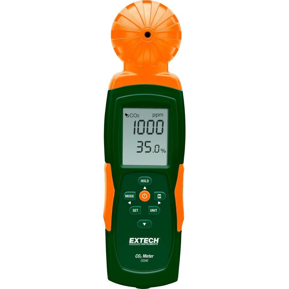 Watt Meter Canada: Extech Instruments Indoor Air Quality, Carbon Dioxide (CO2
